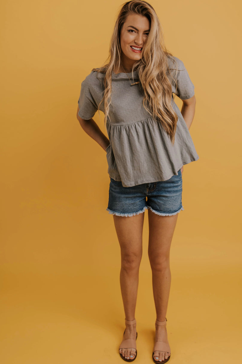 Easy Peplum Top | ROOLEE