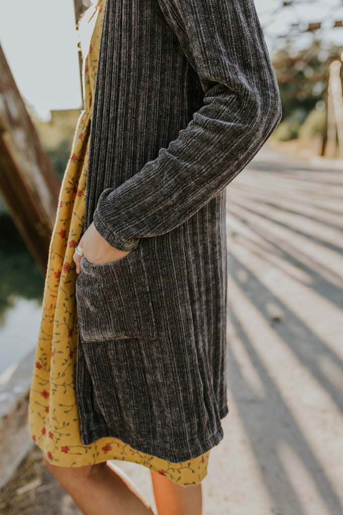 Soft Pocket Cardigan | ROOLEE