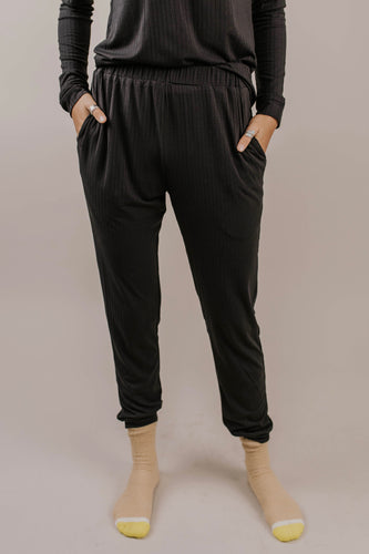 Ribbed Sweatpant Outfit Ideas | ROOLEE