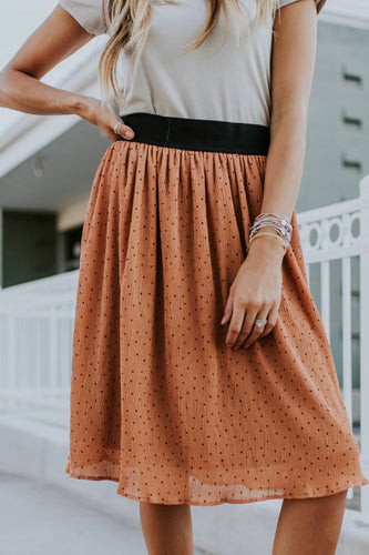 Martindale Polka Dot Skirt | ROOLEE