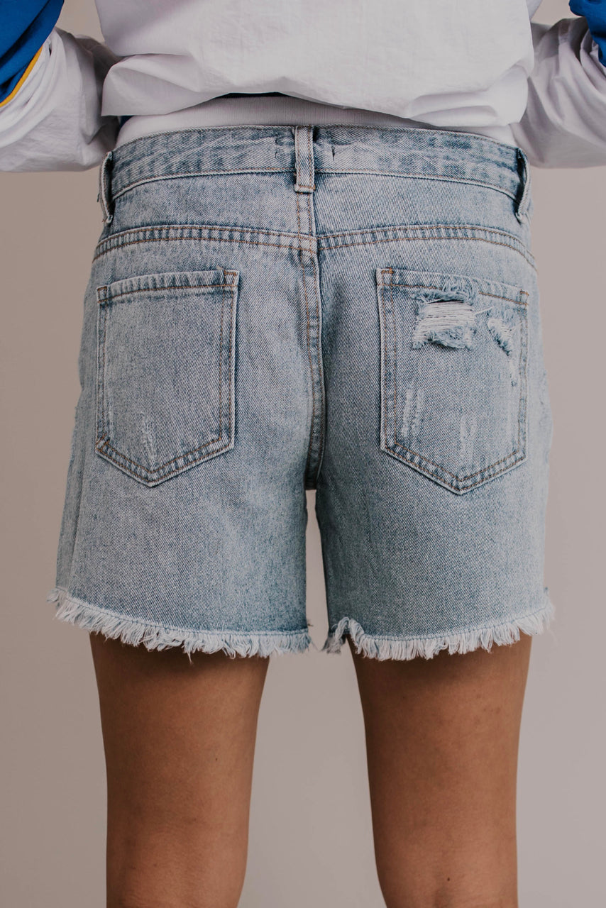 Cute Cut Off Denim Shorts | ROOLEE