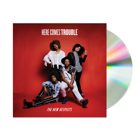 Here Comes Trouble EP CD