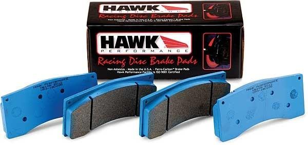Hawk 01-02 Miata w/ Sport Suspension Blue 9012 Race Rear Brake Pads D891