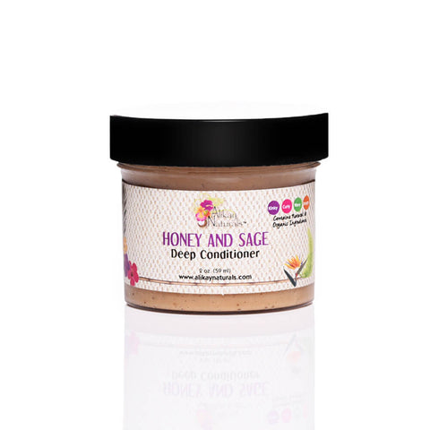 Honey and Sage Deep Conditioner - 2oz Travel Size