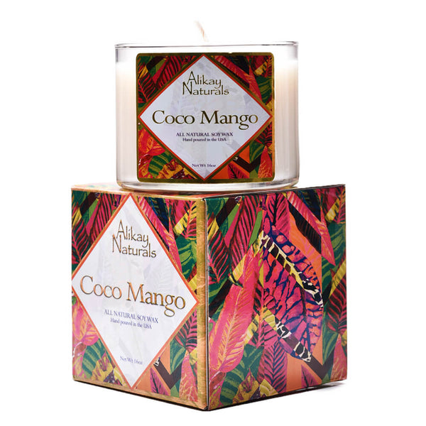 Coco Mango Luxury Soy Candle