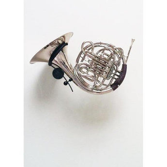 French Horn stand Julius made by Locoparasaxo wall-mounted instrument stands