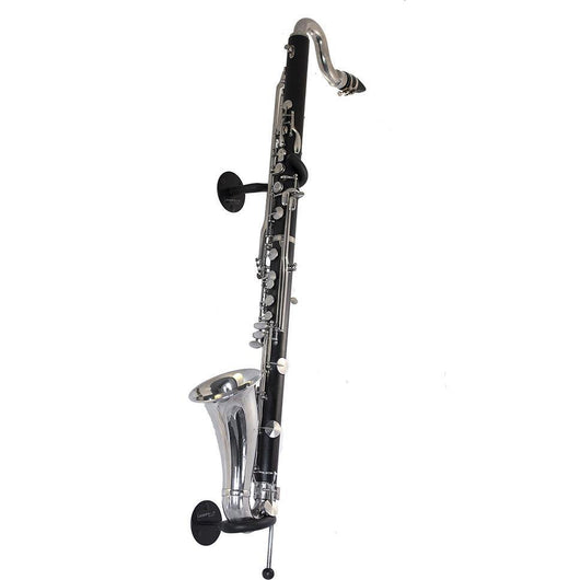 bass clarinet stand by Locoparasaxo wall-mounted instrument stands full view