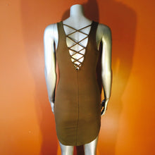 Dangerous Minds Ribbed Mini Dress