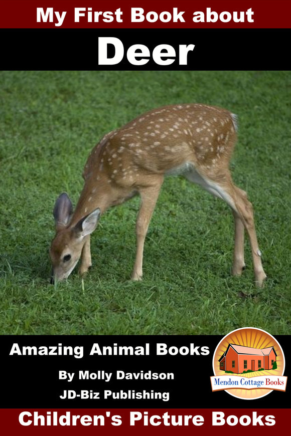 My First Book about Deer Amazing Animal Books Children's Picture Books