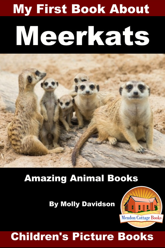 My First Book about Meerkats Amazing Animal Books Children's Picture Books