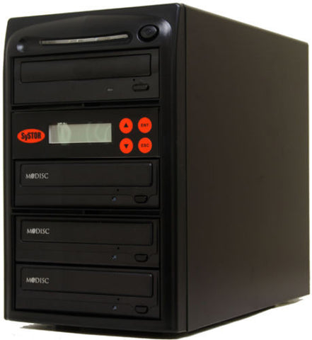 3 M-Disc Burner 24X CD DVD Duplicator Copier- (SYS03DS24X)