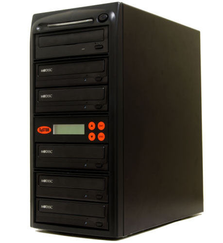 5 M-Disc Burner 24X CD DVD Duplicator Copier- (SYS05DS24X)