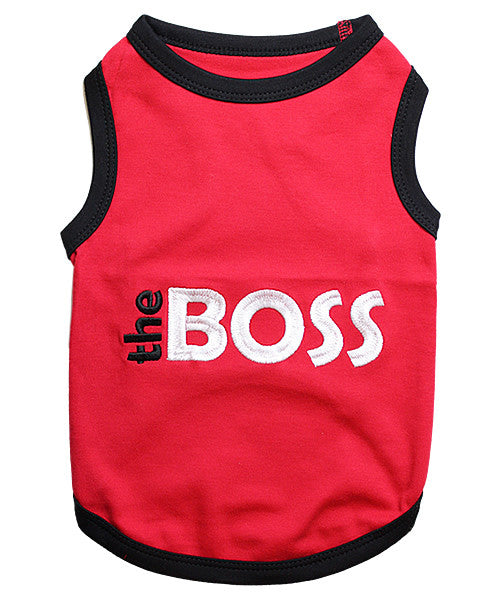 Red Dog Shirt - Boss