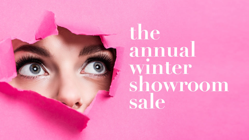 Winter showroom sale