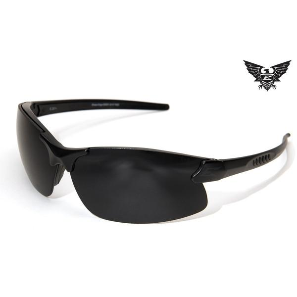 Edge Tactical Eyewear Dragon Fire - Matte Black Frame / Clear Lens