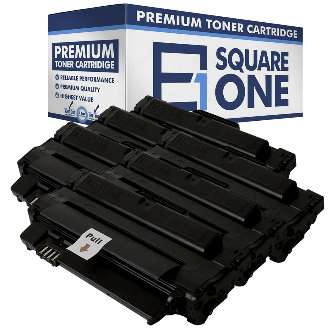 eSquareOne Compatible High Yield Toner Cartridge Replacement for DELL 2MMJP 330-9523 | 7H53W 593-10961 (Black, 6-Pack)