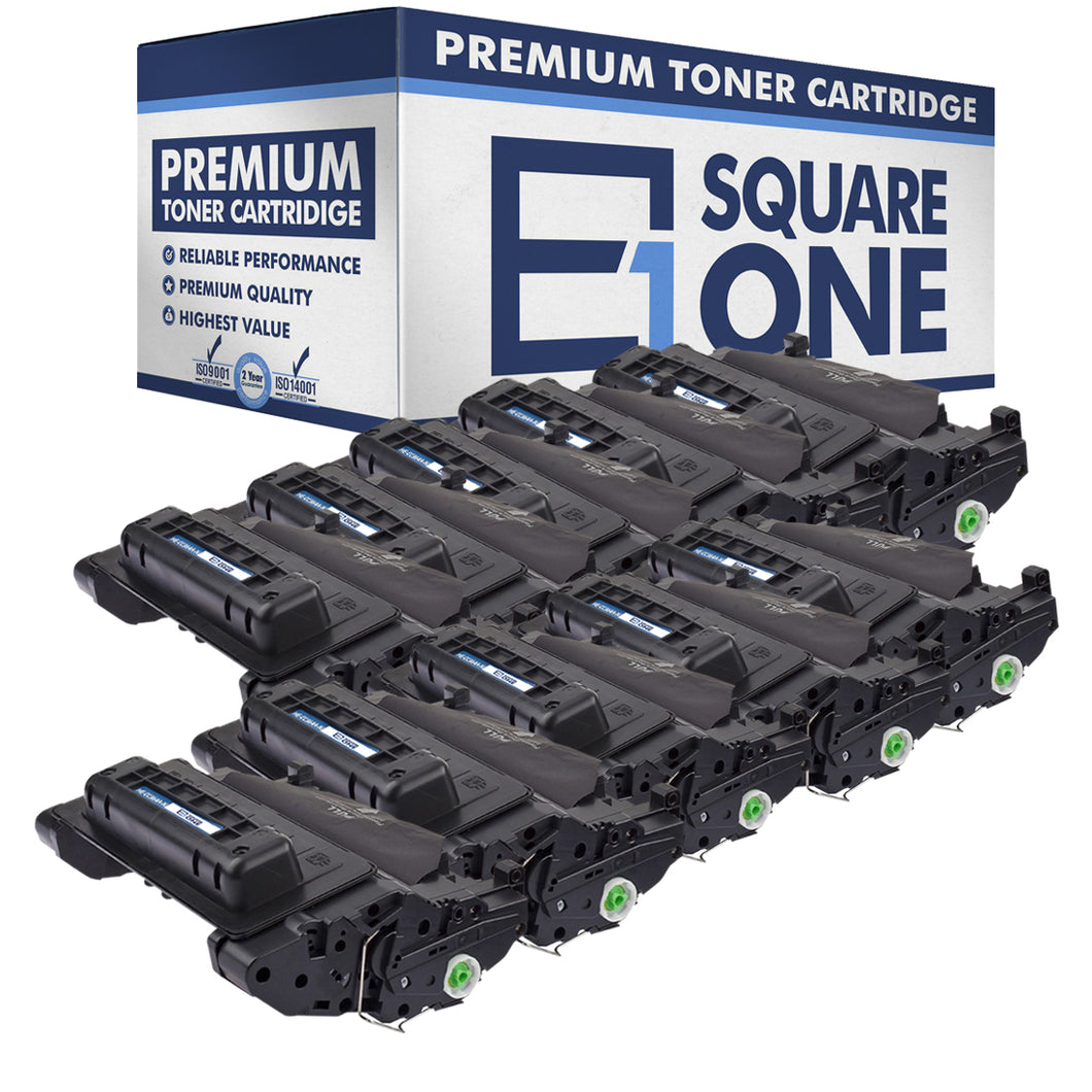 eSquareOne Compatible Toner Cartridge Replacement for HP 64A CC364A (Black, 10-Pack)