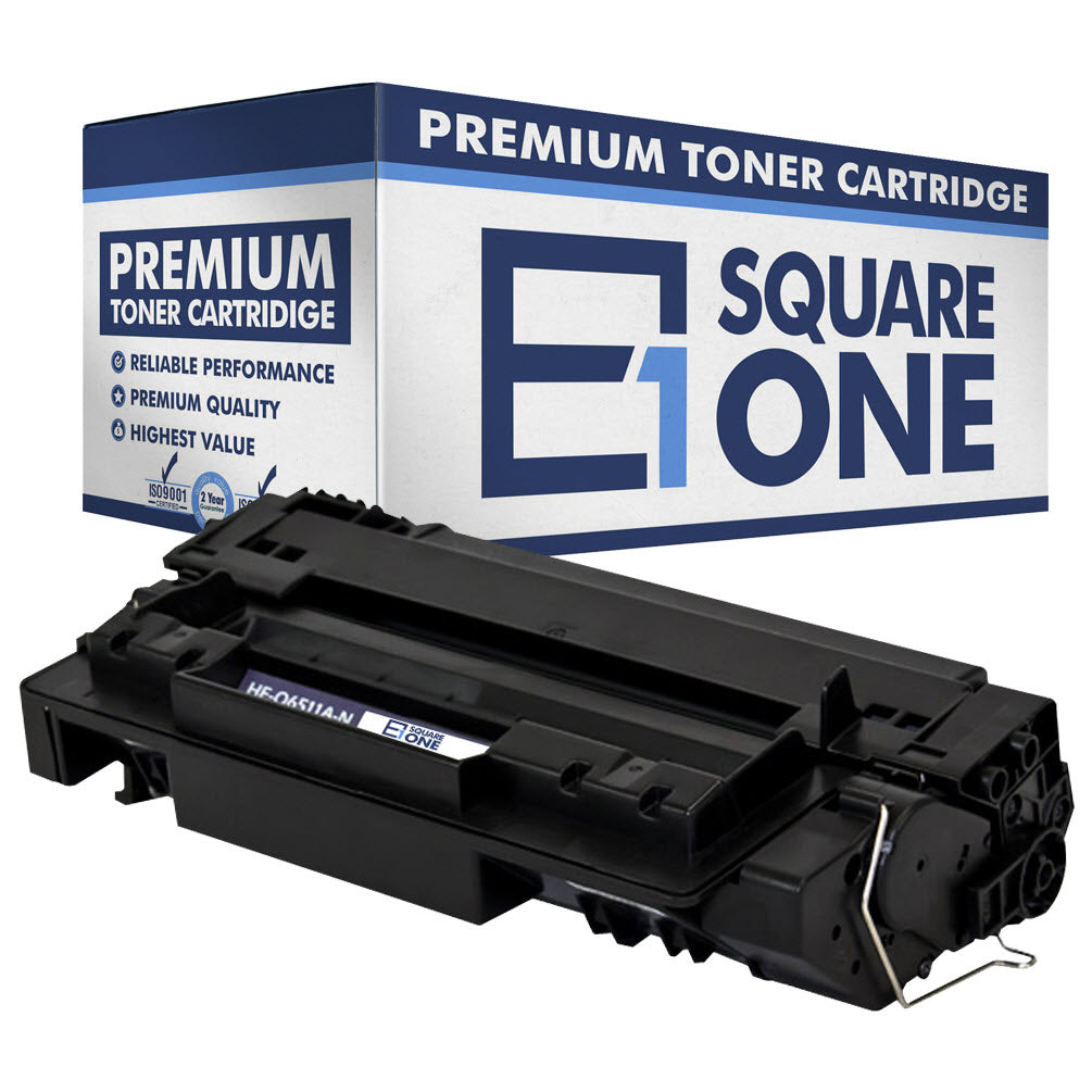 eSquareOne Compatible Toner Cartridge Replacement for HP 11A Q6511A (Black, 1-Pack)