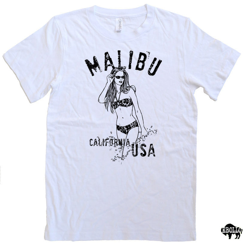 Malibu California USA Men's T-Shirt