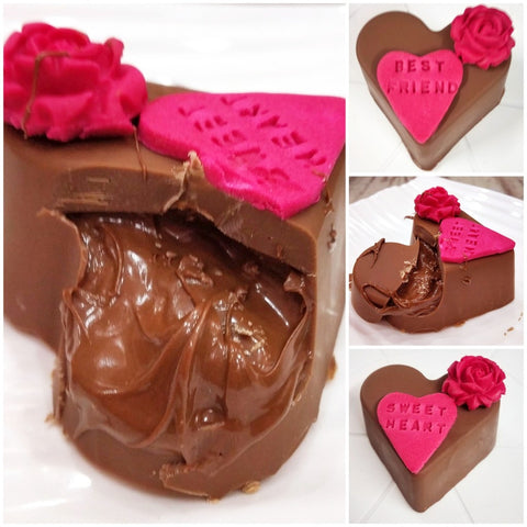 Chocolate & Nutella hearts