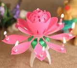 Musical flower candle - saysurprise