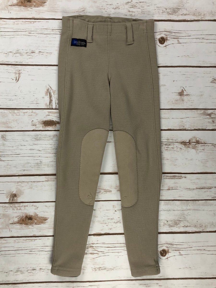 Irideon Cadence Breeches in Tan - Front View