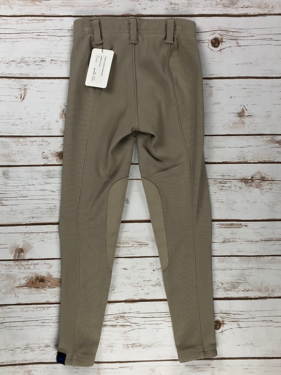 Irideon Cadence Breeches in Tan -  Back View