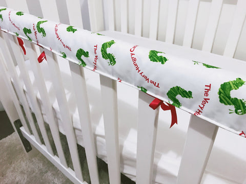 The Very Hungry Caterpillar Teething Rail Cover