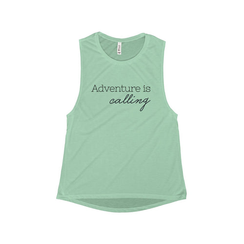 Adventure is Calling Muscle Tank | numinous.co