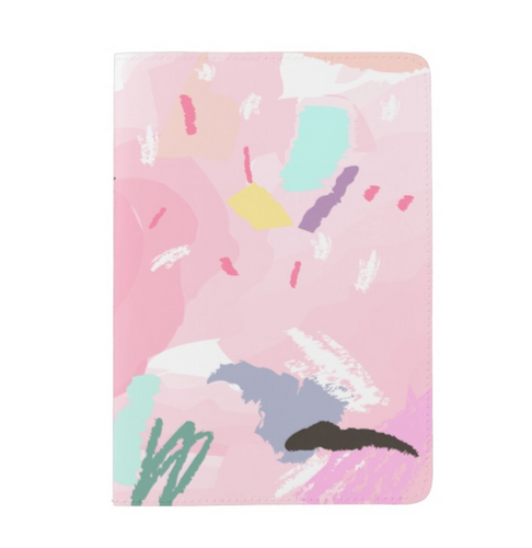 Bubble Gum Doodle Passport Cover | numinous.co