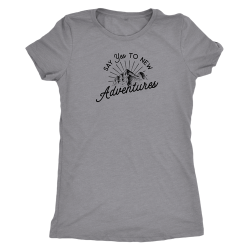 Say Yes to New Adventures Tee | numinous.co
