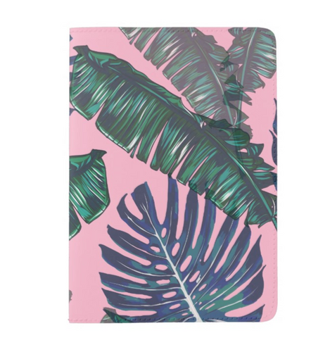Pink and Palms Passport Cover | numinous.co