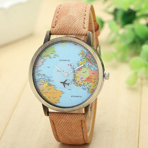 Wanderlust World Map Watch | numinous.co