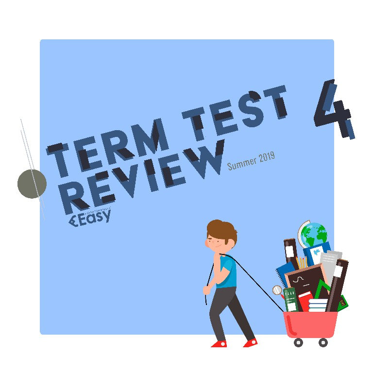 2019 SUMMER MAT237Y1Y TT4 Review