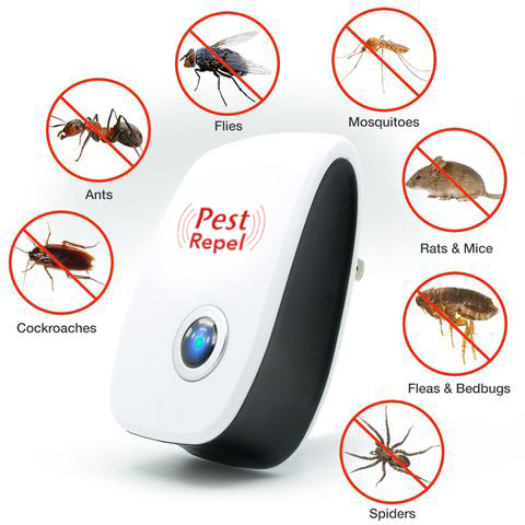 PestRepel™: Ultra-Sonic Insects, Rodent Pest Repellent (1,600 Sq. ft. Radius)