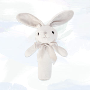 Little Grey Bunny Squeaky Toy