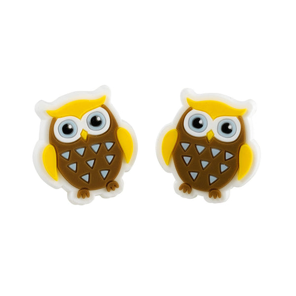 Brownie Owl Earrings