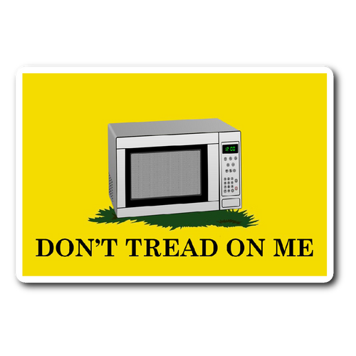 Assault Microwave Sticker