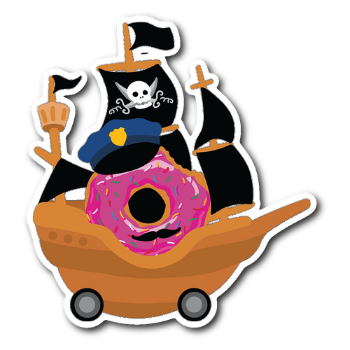 Road Pirate Decal