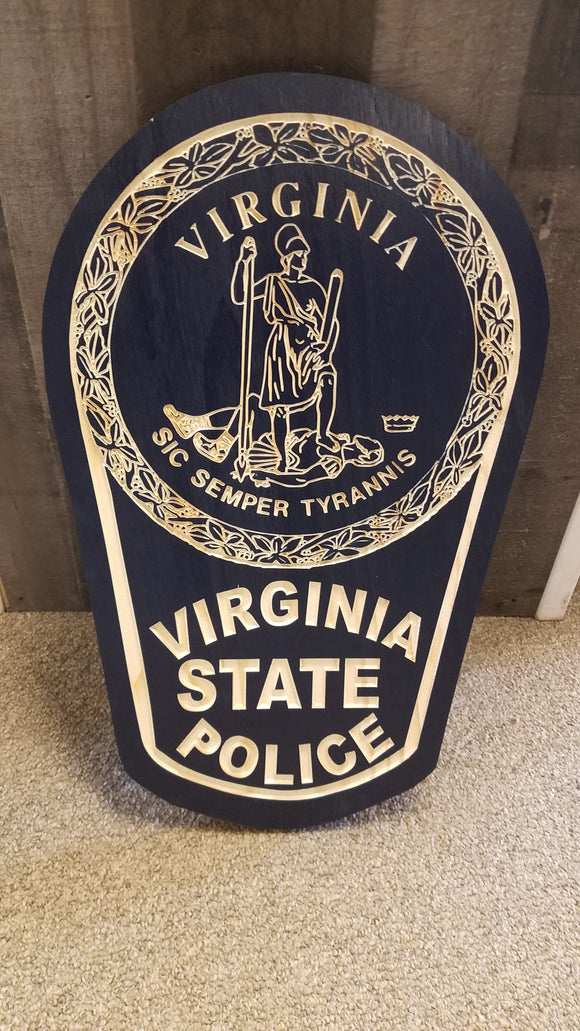 Virginia State Police Crest