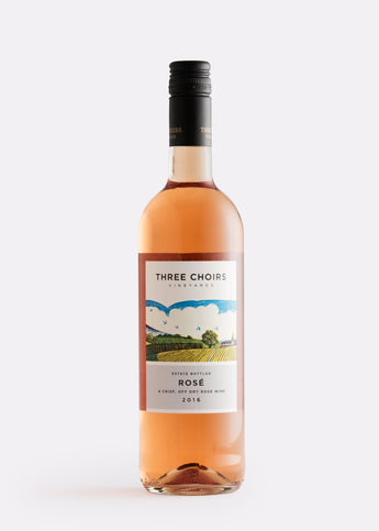 Three Choirs Rosé wine The English Wine Collection
