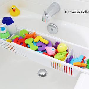 #1 Rated Bath Toy Organizer & Bathtub Storage Basket