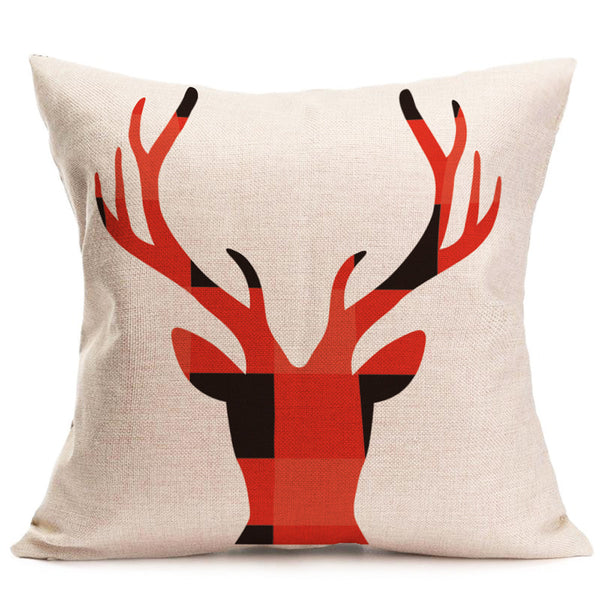 Decorative Throw Pillow Cover - Geometric Head 45*45