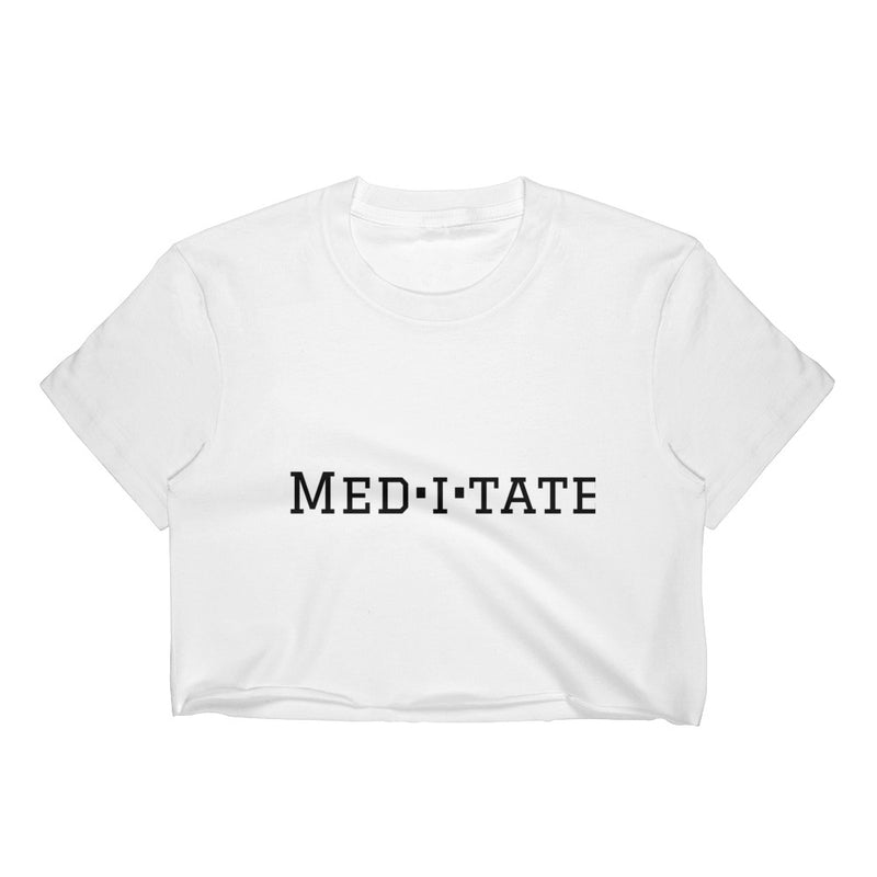 Meditate Crop Top