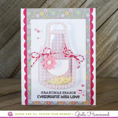 Mothers Day Shaped Shaker