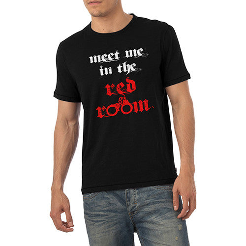 Mens Meet in the Red Room T-Shirt