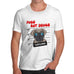 Mens Pugs Not Drugs T-Shirt