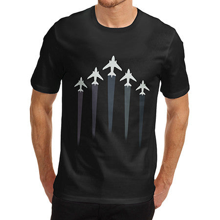 Mens Fighter Jets T-Shirt
