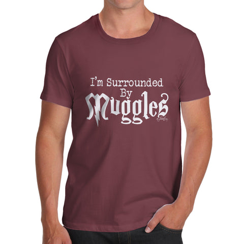 I'm Surrounded By Muggles Men's  T-Shirt