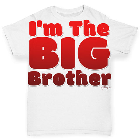I'm The Big Brother Baby Toddler ALL-OVER PRINT Baby T-shirt